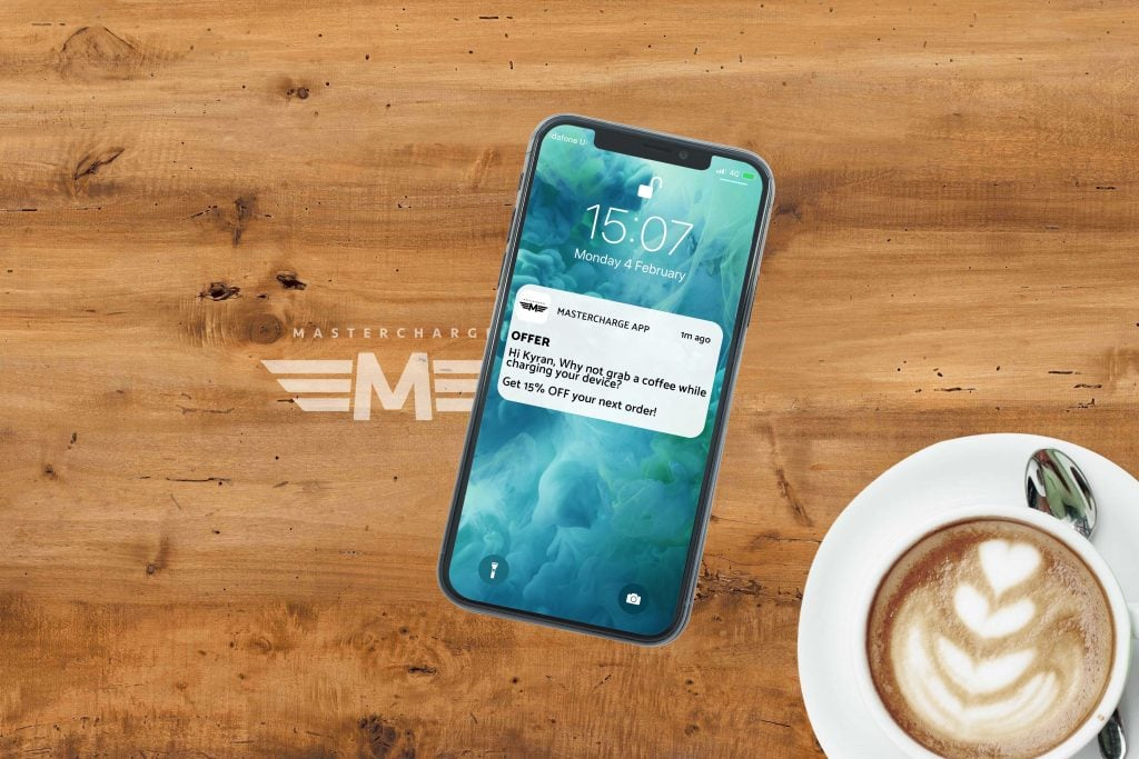 Mastercharge Notification Wireless