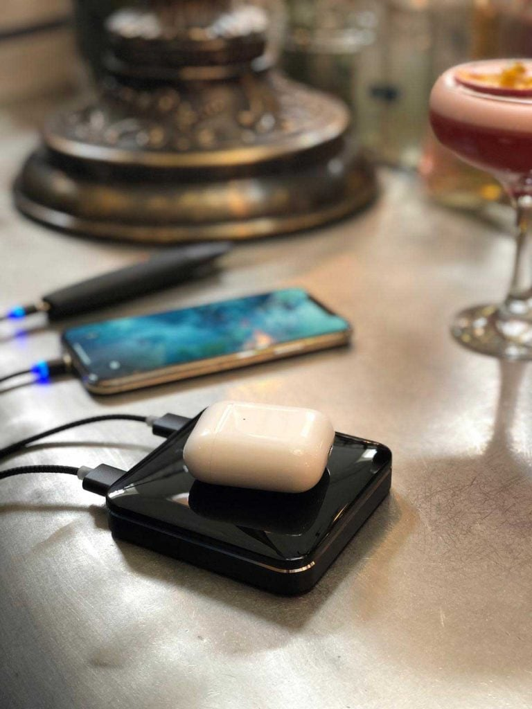 Wireless Charging Power Bank Air Pods