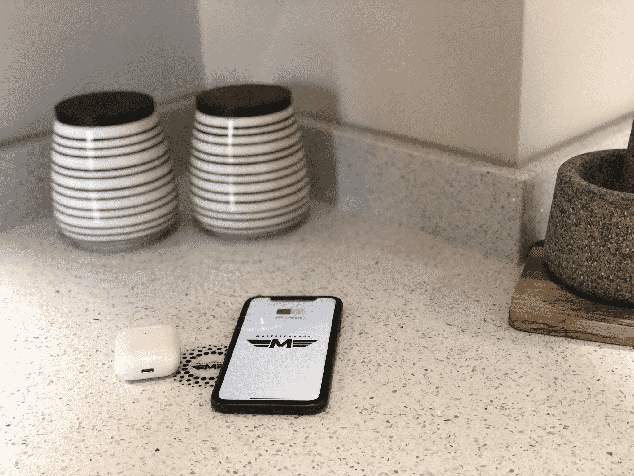 Hidden Wireless Charger For Kitchen